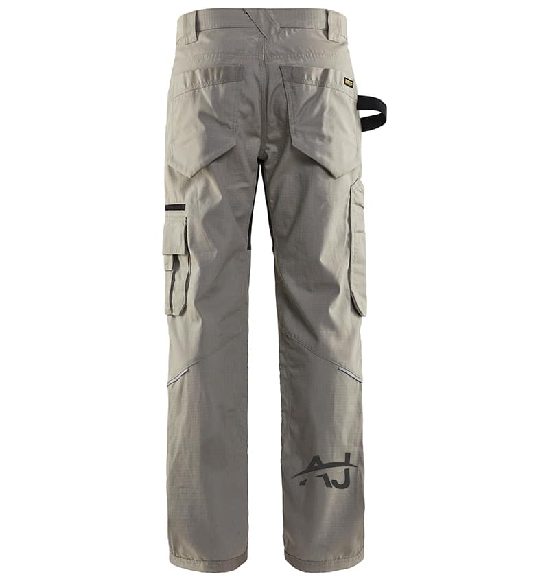 Custom - Work Pants - 1690 - Rip Stop Pants - Stone - Back - Your Logo - Corporate Apparel - Heat Transfer - Screen Printing - Embroidery