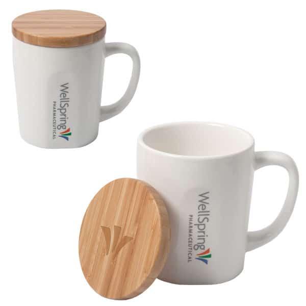 Bamboo Lid Customized Mug - Winter 2021