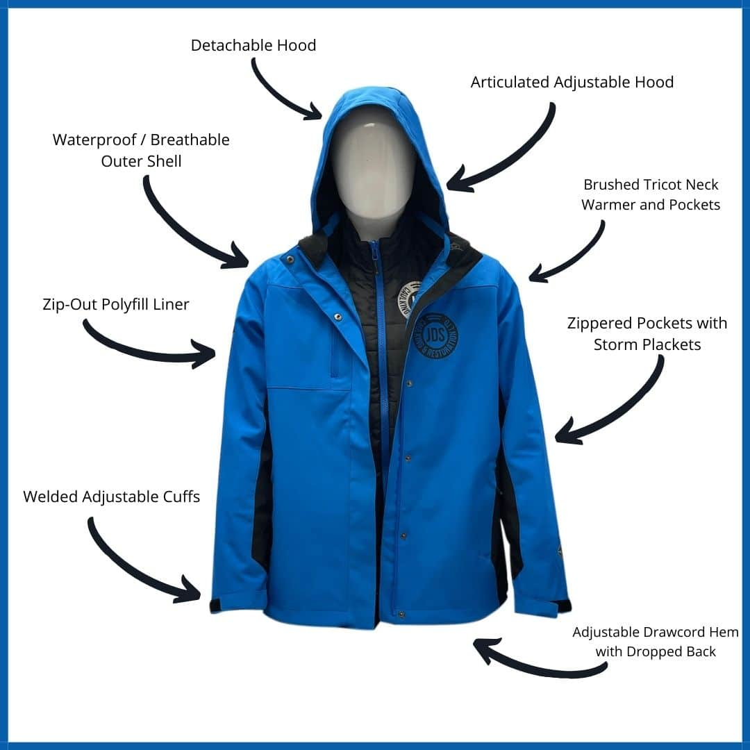 Best 3-in-1 Customized Winter Jacket for Men & Women Features