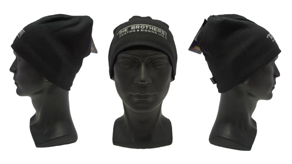 Brothers Hoisting Reflective Logo - WorkwearToronto.com - Custom decorated headwear with custom logo - Heat Transfer