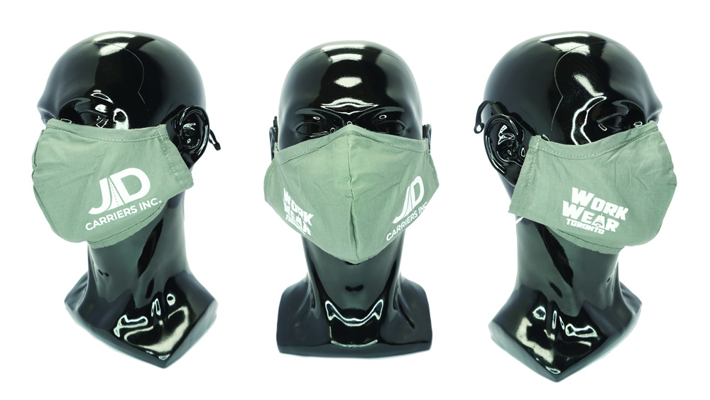 Covid-19 Safety Kit - Custom Face Masks - Custom Logo - WorkwearToronto.com - Health & Safety Products