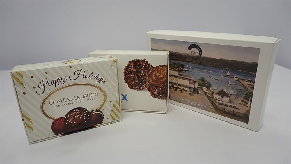 Custom Chocolate Box With Truffles - Custom Logo - Promotional Products - WorkwearToronto.com - Custom Products