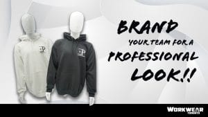 Custom Decorated Apparel - EP Construction - Heat Transfer - Emrboidery - Screen Printing Black & Hoodie