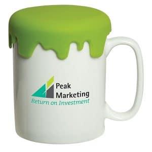 Customized Mugs - Porcelain Customized Mug with Lid