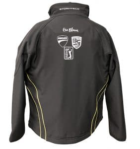 Custom Jackets With Your Logo - Eric Blouin - Jacket - Black - Corporate Apparel - Heat Transfer - Screen Printing - Embroidery