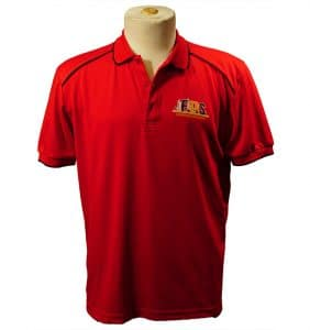 Custom Shirts - Polos - T-Shirts - FDS - Polo - Red - WorkWearToronto.com - Workwear Toronto - Your Logo - Heat Transfer - embroidery