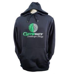 Custom Sweaters - Gateway - Hoodie - Navy Blue - WorkwearToronto.com - Workwear Toronto - Heat Transfer