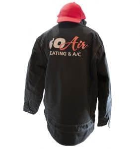 Custom Jackets with your logo - Go Air - Jacket - Black - Corporate Apparel - Heat Transfer - Screen Printing - Embroidery