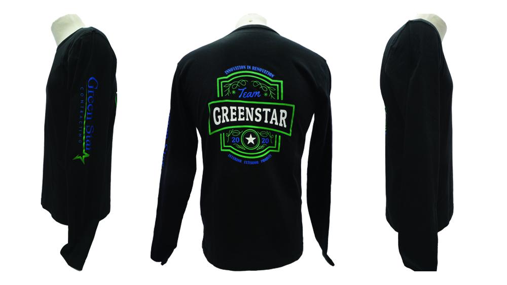 Green Star Contracting - WorkwearToronto.com - T-shirts with custom logo