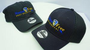 Home Free Pest Removal - WorkwearToronto.com - Custom headwear baseball hats with custom logo - Embroidery - Custom hats cost