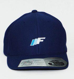 Custom Headwear - IIF Embroidery - Blue Cap - Workwear Toronto - WorkWearToronto.com - Your Logo - Corporate Apparel - Baseball Cap