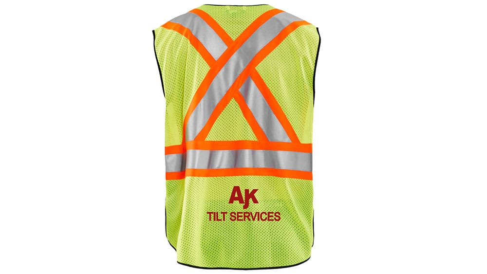 Importance-of -custom-made -apparel-Construction Team – Workwear Toronto-safety vests design