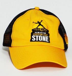 Custom Headwear - Kawartha - Custom - Cut - Embroidery - Yellow Cap - Workwear Toronto - WorkWearToronto.com - Your Logo - Corporate Apparel in GTA