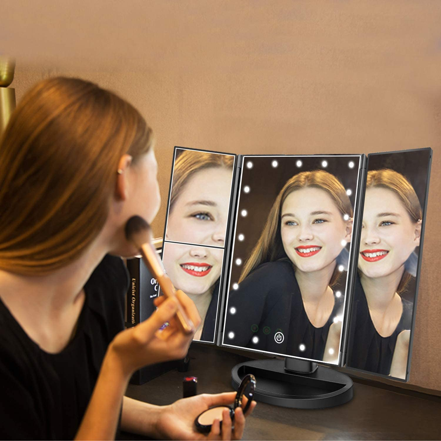 Lighted Makeup Mirror - WorkwearToronto.com - Best Christmas Gift Ideas For Ladies