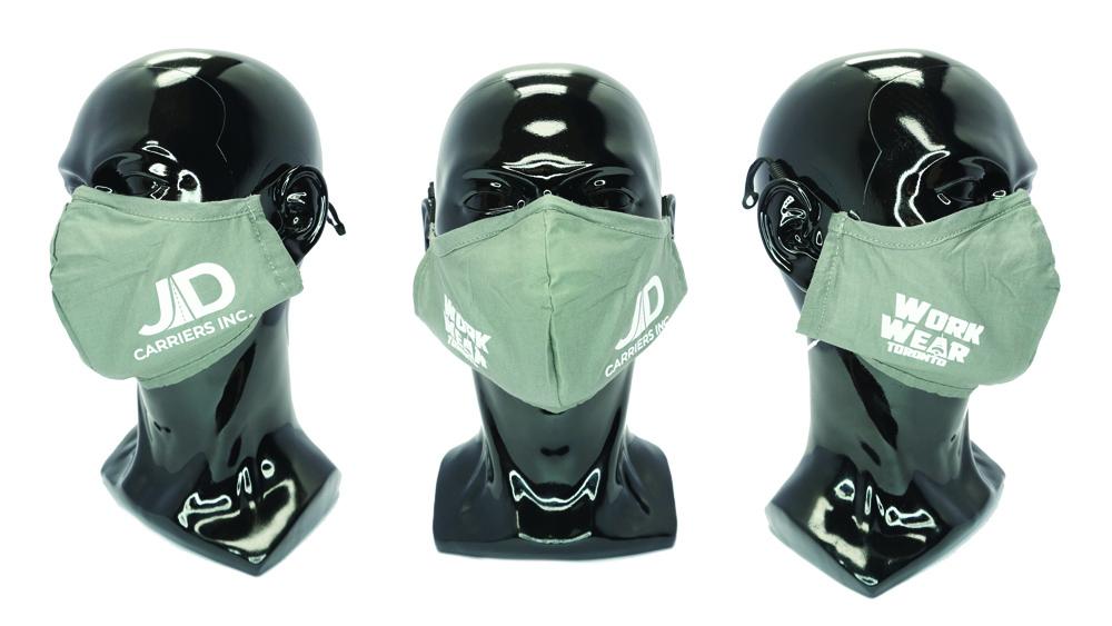 Custom Face Masks - Custom Logo - Christmas Gifts 2020 - Promotional Products - Workwear Toronto