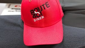 Route 401 Diner - Baseball Hats - WorkwearToronto.com - Red - Workwear Toronto - Embroidery - Promotional Products