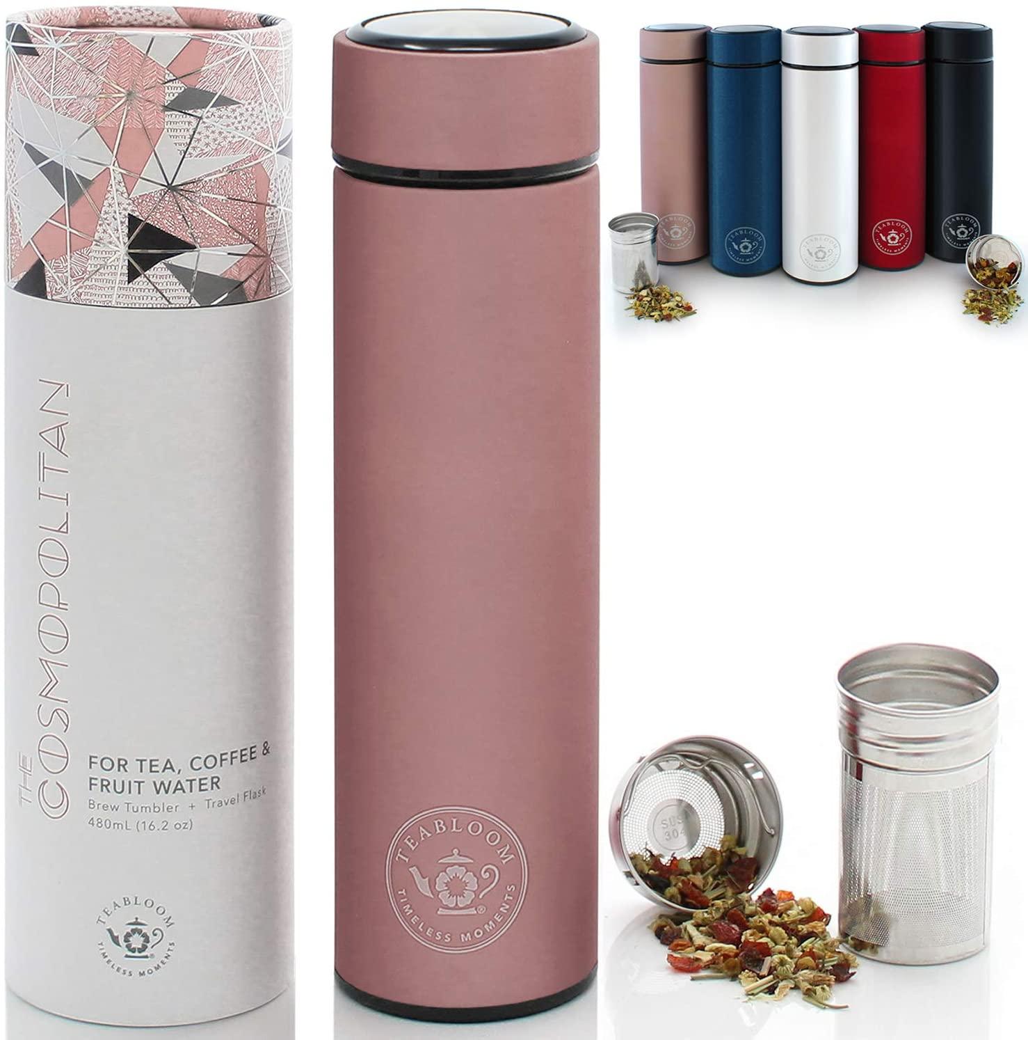 Teabloom All Beverage Tumbler - WorkwearToronto.com - Best Christmas ideas for 2020 - Amazon