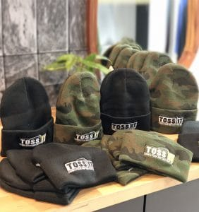 Custom Headwear - Toss It - Toques - Embroider in Mississauga- WorkwearToronto.com - Workwear Toronto - Your Logo - Promotional Products