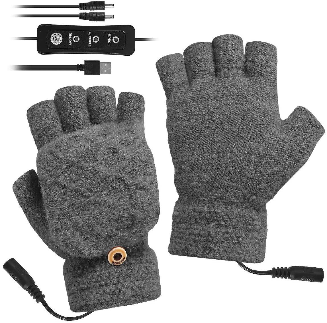 USB Heated Hand Gloves - WorkwearToronto.com - Chritmas Gift Ideas 2020 - Corporate Christmas Gifts - Amazon