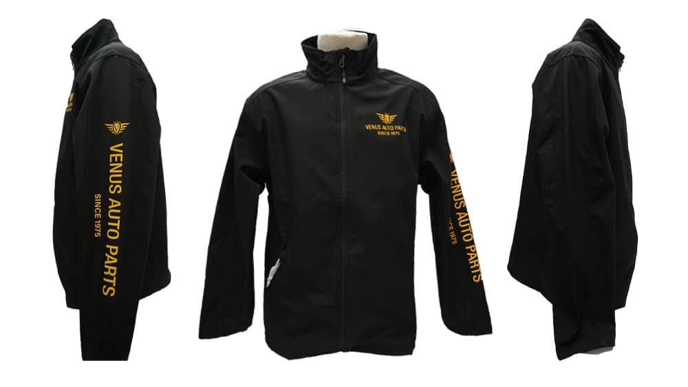 Venus Autoparks - WorkwearToronto.com - Custom Decorated Jackets with custom logo