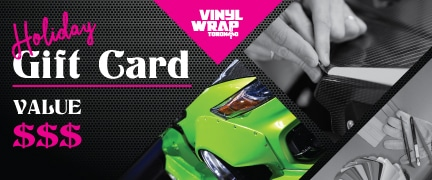 VinylWrapToronto.com - Gift Cards - Vehicle Wrap - Christmas Offer