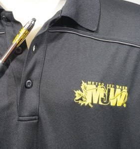 Custom Shirts - Polos - WT - Metro Jet Wash - T-shirt - Closeup - Workwear Toronto - WorkwearToronto.com - Your Logo - Embroidery