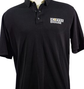 Custom Polos - Shirts - WT - Prime Coffee House - T-Shirts - Workwear Toronto - WorkwearToronto.com - Your Logo - Embroidery