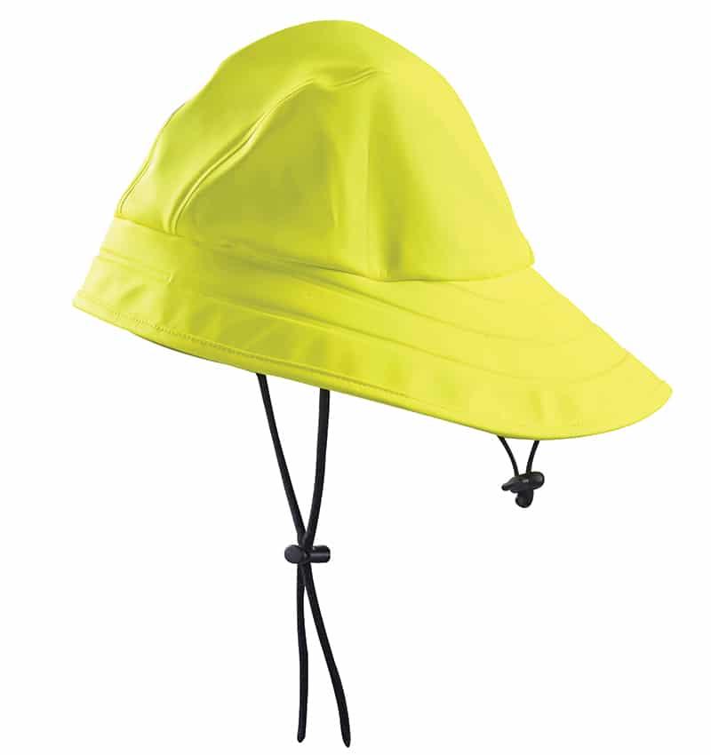 Rain Hat - WTBL2009Yellowfront