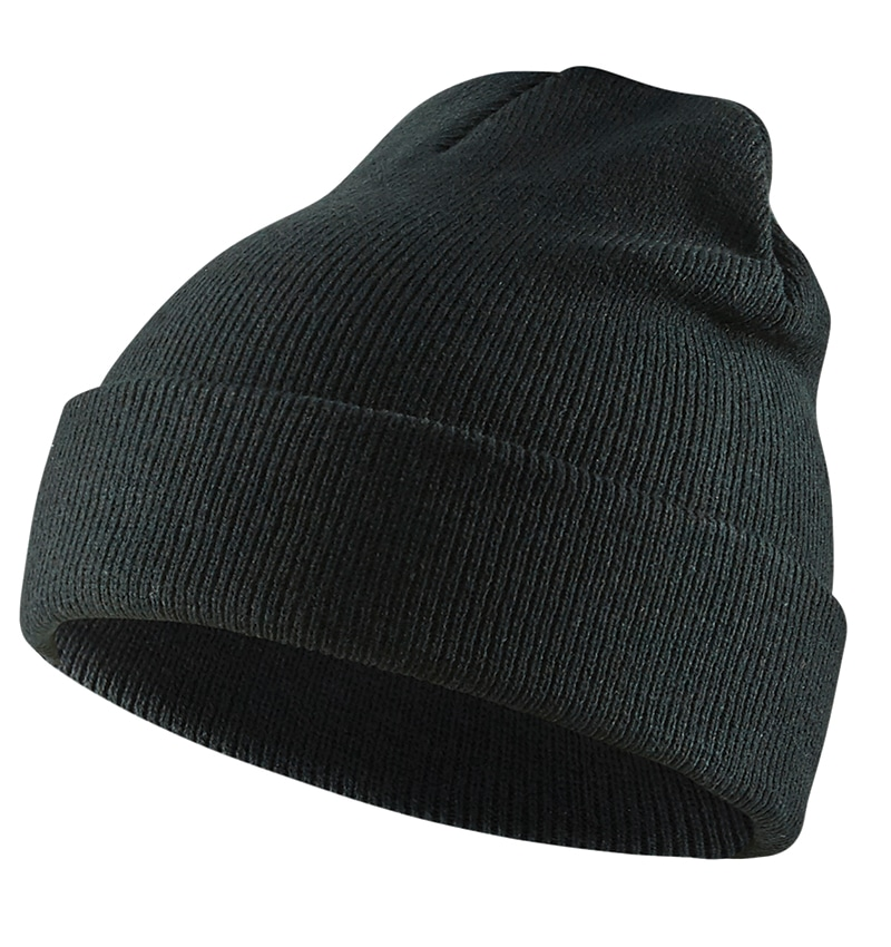 Knit Hat - Toque - Black - Custom Logo - Your Logo Here - WTBL2028 - Workwear Toronto - Heat Transfer - Screen Printing - Embroidery