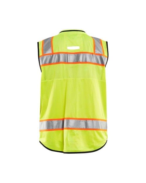 WTBL3132 - Hi-Vis Surveyor's Vest - WorkwearToronto.com - Custom Clothing Embroidery and Heat Press in GTA - Back