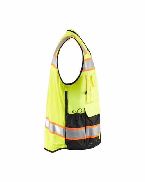 WTBL3132 - Hi-Vis Surveyor's Vest - WorkwearToronto.com - Custom Promotional Products in GTA - Side 2