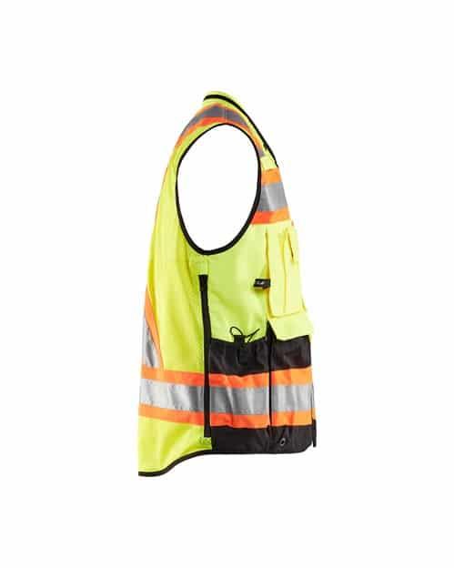 WTBL3134 - Hi-Vis Surveyors Vest - WorkwearToronto.com - Promotional products in Toronto - Side 2