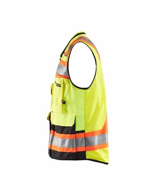 WTBL3134 - Hi-Vis Surveyors Vest - WorkwearToronto.com - Promotional products in Toronto - Side