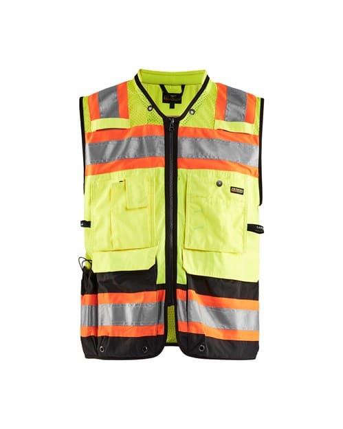 WTBL3134 - Hi-Vis Surveyors Vest - WorkwearToronto.com - Promotional products in Toronto