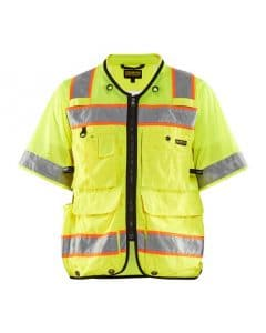 WTBL3139 - Hi-Vis Sleeved Vest - WorkwearToronto.com - Buy Safety Jackets