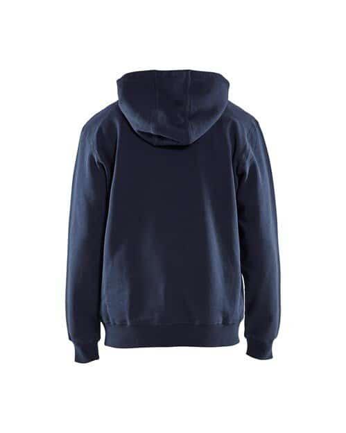 WTBL3449 - Navy Blue - WorkwearToronto.com - Buy Hoodies & Sweatshirts - Back