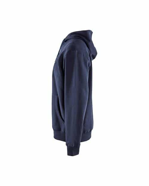 WTBL3449 - Navy Blue - WorkwearToronto.com - Buy Hoodies & Sweatshirts - Side