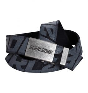 Custom Clothing Accessories WTBL4033 - black Stretch Web Belt - Blaklader Print - Your Logo - Promotional Products - Corporate Apparel in GTA - Heat Transfer - Screen Printing