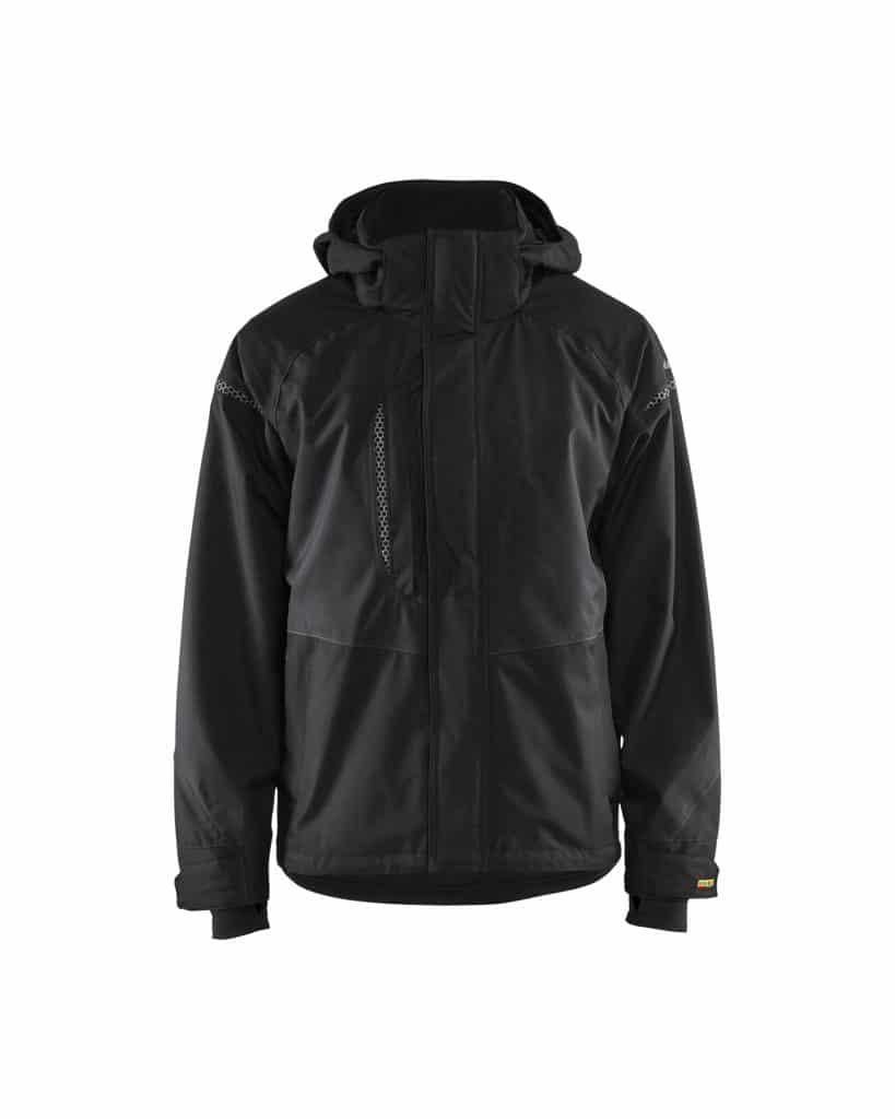 WTBL4797 Black - WorkwearToronto.com - Men's Softshell Jacket