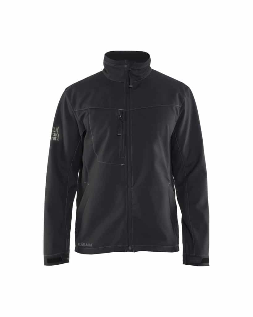 WTBL4957 - WorkwearToronto.com - Men's Softshell Jacket - Black