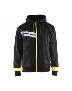 WTBL4958 - Back & Yellow Highviz - Men's hoodies - Hi-Vis