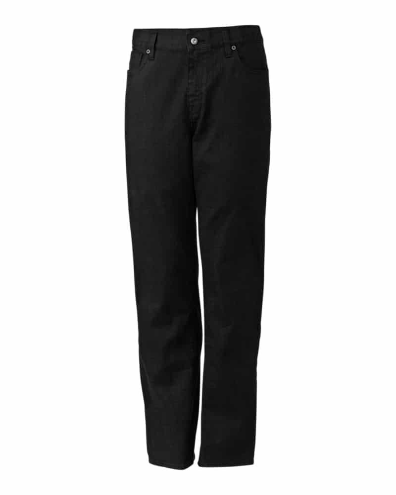 WTCBMCB00080 - Greenwood Denim - WorkwearToronto.com - Men's Denim Pants - Black - Custom clothing with your branding