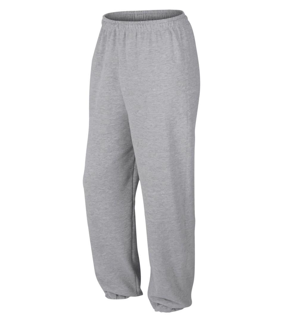 WTSM1820 - Sport Grey - WorkwearToronto.com - Men's Heavy Blend Sweatpants - Custom Logo - Print vinyl heat press