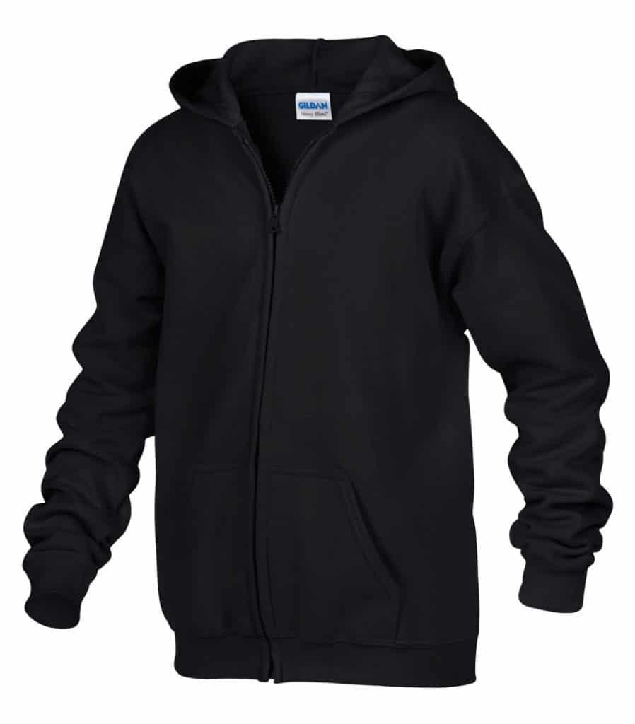 WTSM186B - Black - WorkwearToronto.com - Kids hoodies - Hoodies for Youth - Custom logo Cost