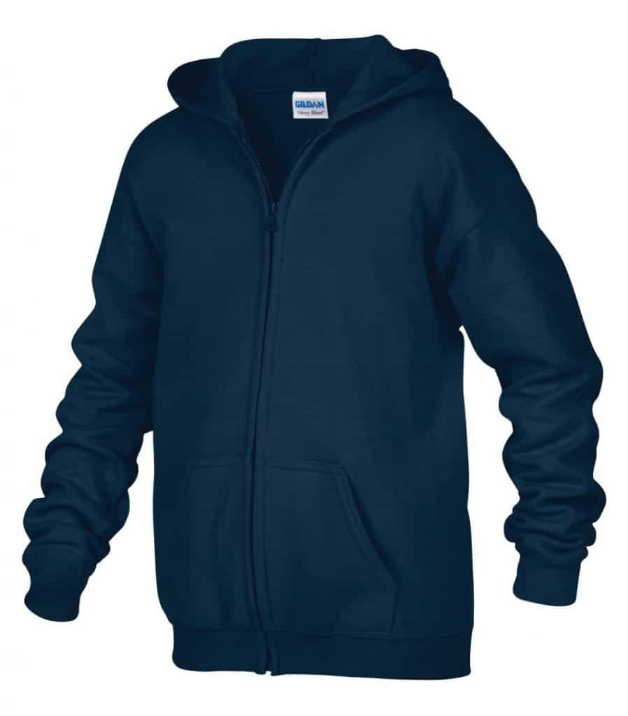 WTSM186B - Navy - WorkwearToronto.com - Kids hoodies - Hoodies for Youth - Custom logo - Custom Embroidery and Heat Press in GTA