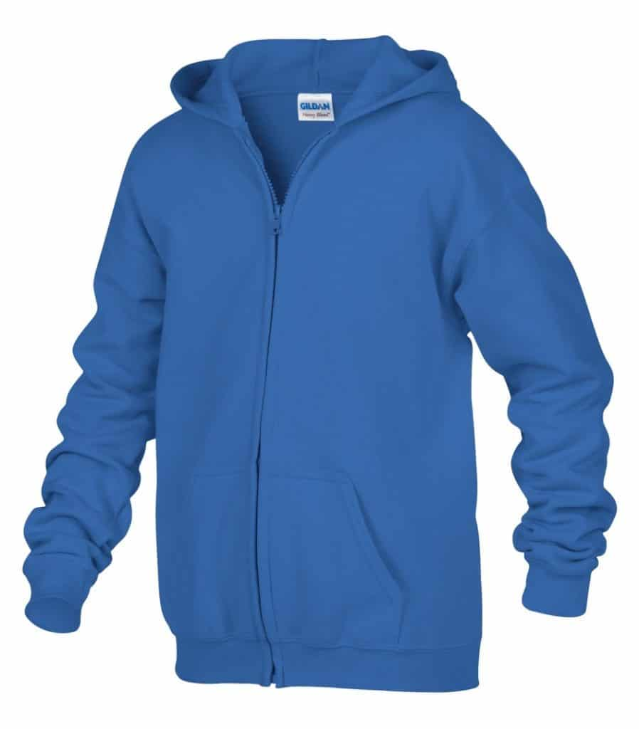 WTSM186B - Royal - WorkwearToronto.com - Kids hoodies - Hoodies for Youth