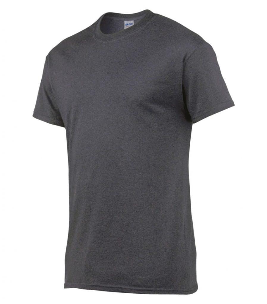 WTSM5000 - Dark Heather - WorkwearToronto.com - Cotton Men's T-Shirts With Custom Logo