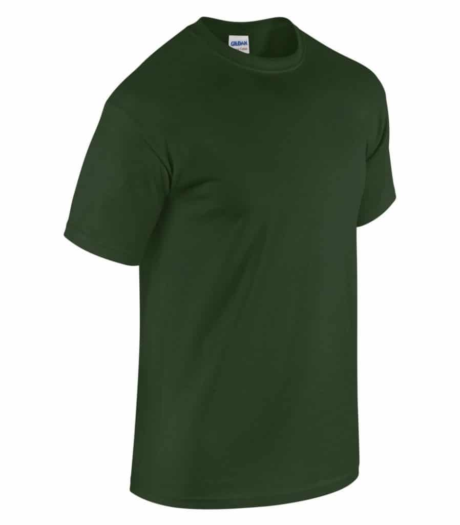 WTSM5000 - Forest Green - WorkwearToronto.com - Men's T-Shirts With Custom Logo