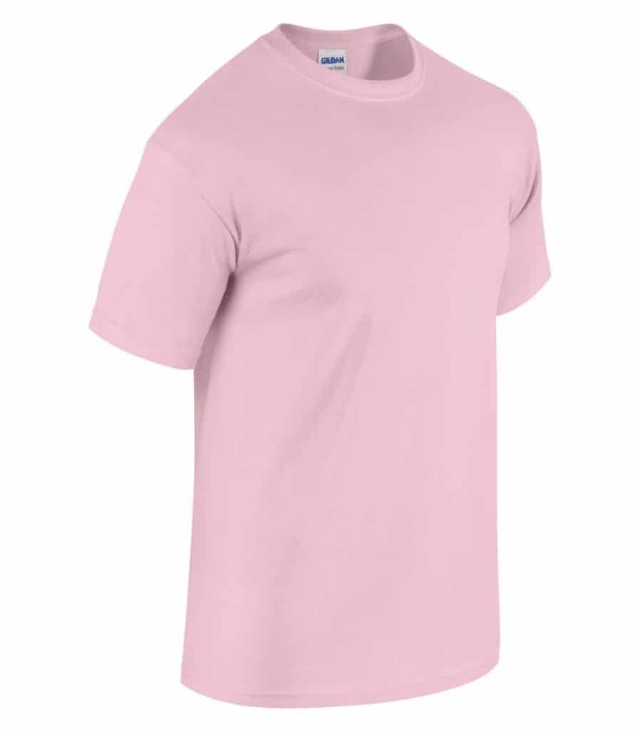 WTSM5000 - Light Pink - WorkwearToronto.com - Men's T-Shirts With Custom Logo