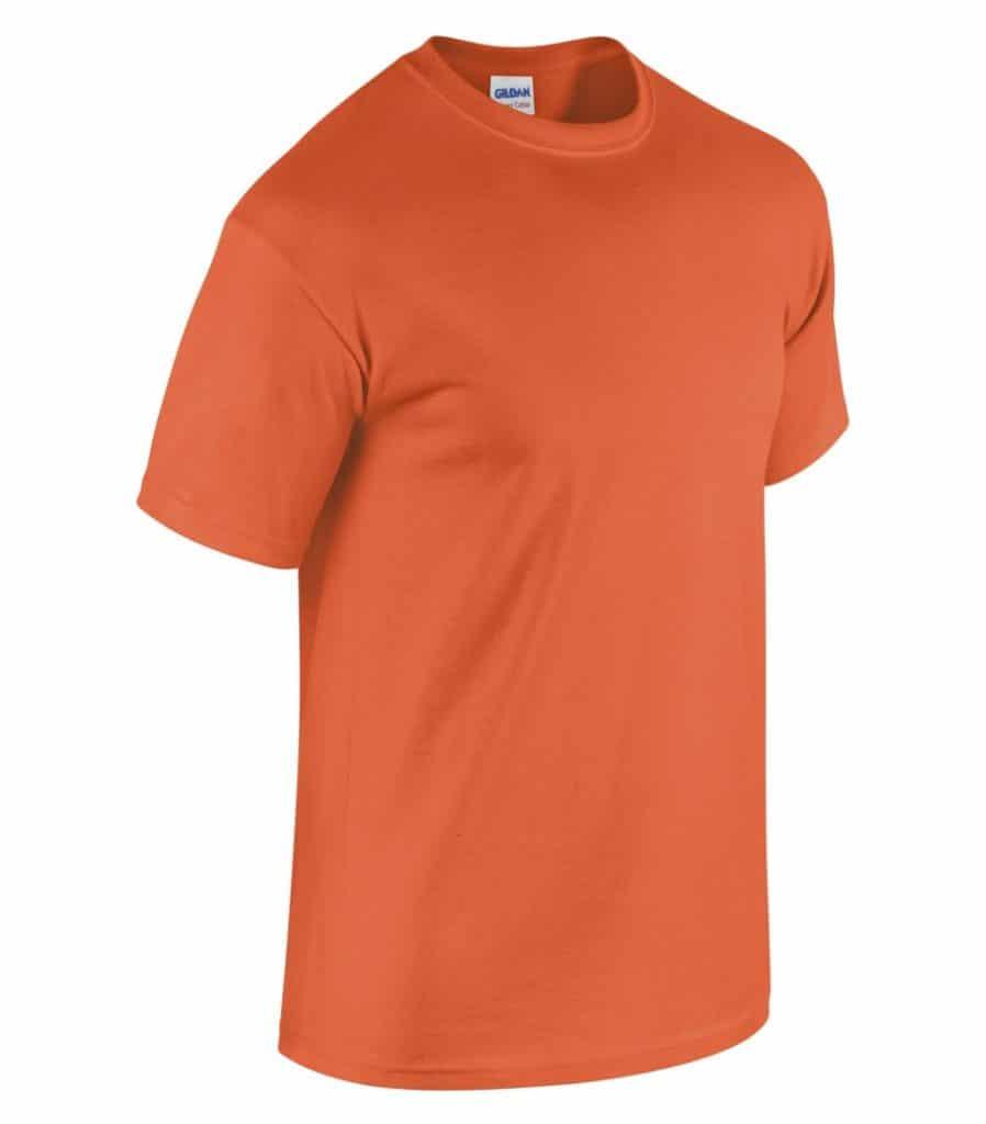 WTSM5000 - Orange - WorkwearToronto.com - Men's T-Shirts With Custom Logo